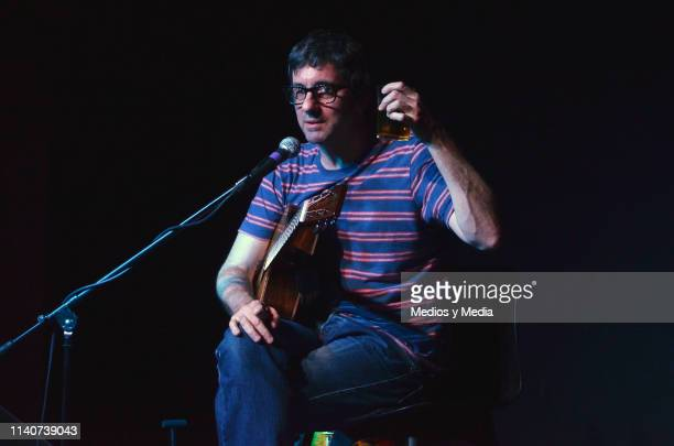 Graham Coxon performs during a concert at Pepsi Center WTC on April 5 2019 in Mexico City Mexico