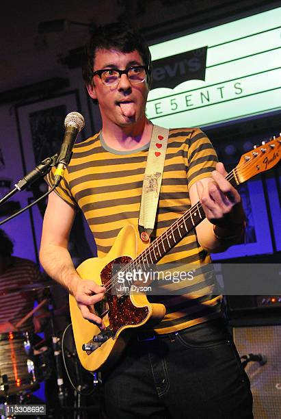 Graham Coxon performs live on stage at the Proud Gallery during day two of the Gaymers Camden Crawl on May 1 2011 in London England