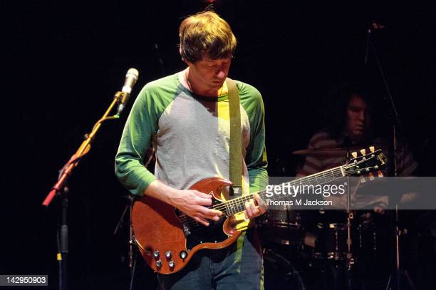 Graham Coxon performs on stage at The Sage on April 15 2012 in Gateshead United Kingdom