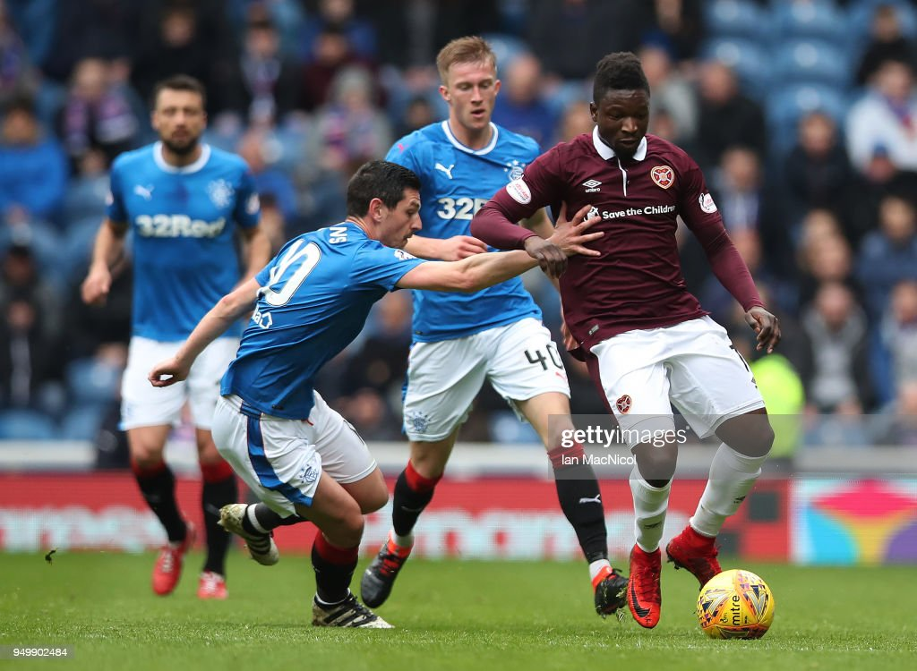 Rangers v Hearts - Ladbrokes Scottish Premiership