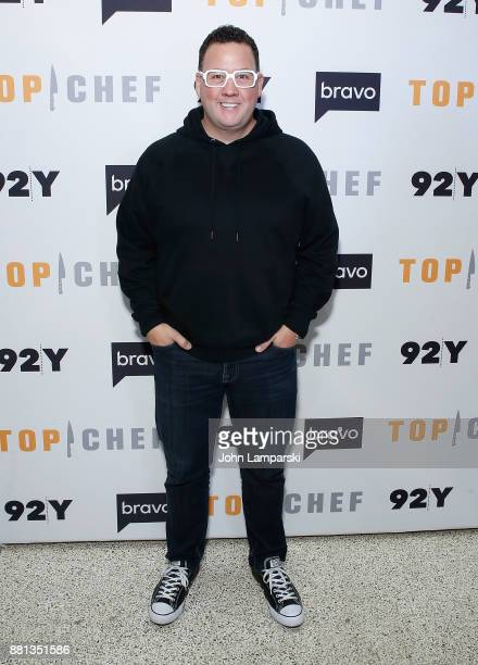 Graham Elliot and The Judges of Bravo's 'Top Chef' In conversation at 92nd Street Y on November 28 2017 in New York City