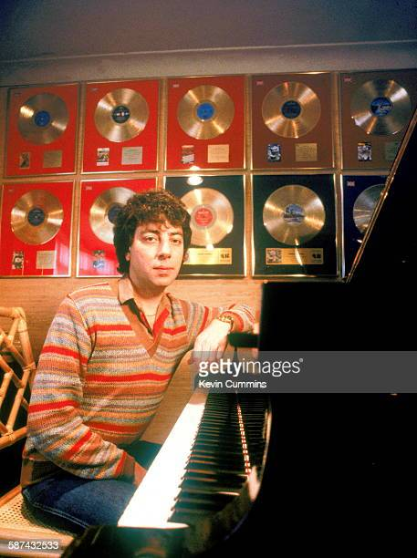Graham Gouldman of English rock band 10cc circa 1981
