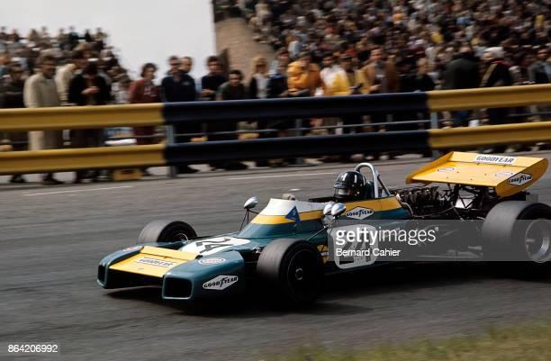 Graham Hill BrabhamFord BT34 Grand Prix of the Netherlands Circuit Park Zandvoort 20 June 1971