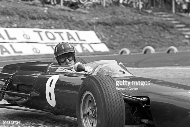 Graham Hill BRM P261 Grand Prix of France RouenLesEssarts 28 June 1964
