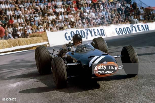 Graham Hill BRM P261 Grand Prix of Monaco Circuit de Monaco 22 May 1966