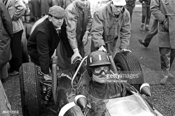 Graham Hill BRM P57 Grand Prix de Bruxelles Heysel Park Brussels 04 January 1962