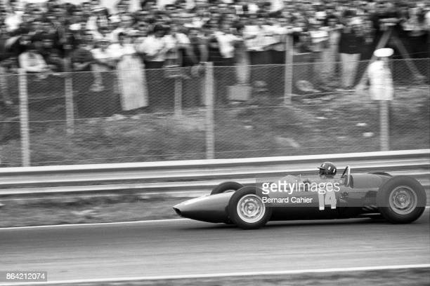 Graham Hill, BRM P57, Grand Prix of Italy, Autodromo Nazionale Monza, 16 September 1962.