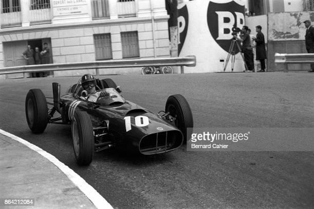 Graham Hill BRM P57 Grand Prix of Monaco Circuit de Monaco 03 June 1962