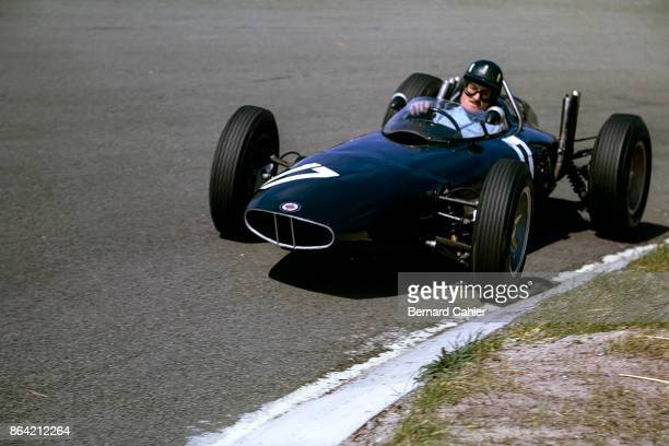 Graham Hill, BRM P57, Grand Prix of the Netherlands, Circuit Park Zandvoort, 20 May 1962.