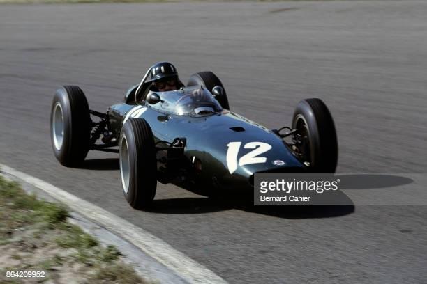 Graham Hill BRM P57 Grand Prix of the Netherlands Circuit Park Zandvoort 23 June 1963