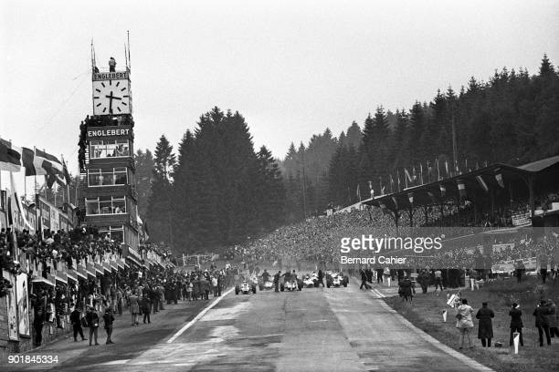 Graham Hill Jim Clark Jackie Stewart Richie Ginther Dan Gurney Grand Prix of Belgium Circuit de SpaFrancorchamps 13 June 1965