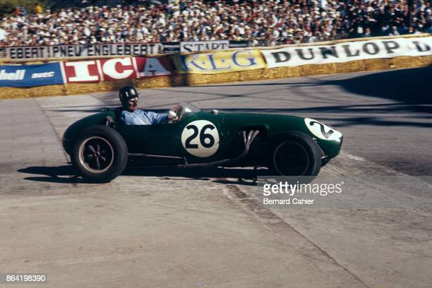 Graham Hill LotusClimax 12 Grand Prix of Monaco Circuit de Monaco 18 May 1958 History in the making the first ever Formula One race for Lotus with...