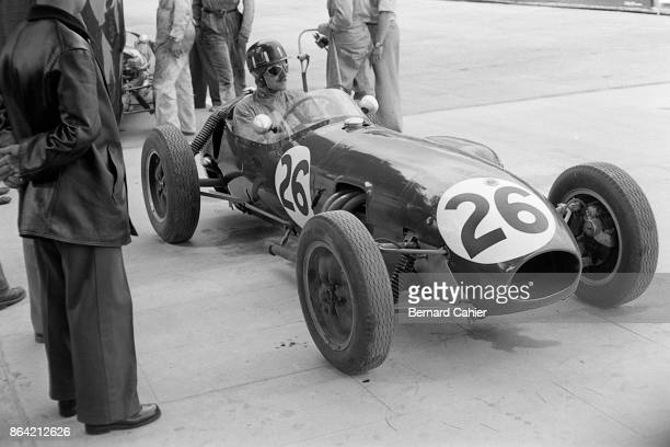Graham Hill, Lotus-Climax 12, Grand Prix of Monaco, Circuit de Monaco, 18 May 1958. History in the making: the first ever Formula One race for Lotus,...