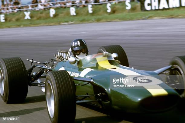Graham Hill LotusFord 49 Grand Prix of Great Britain Silverstone Circuit 15 July 1967