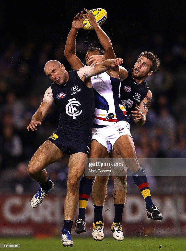 AFL Rd 8 - Carlton v Adelaide