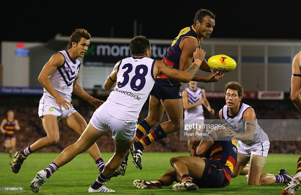 AFL Second Semi Final - Adelaide v Fremantle