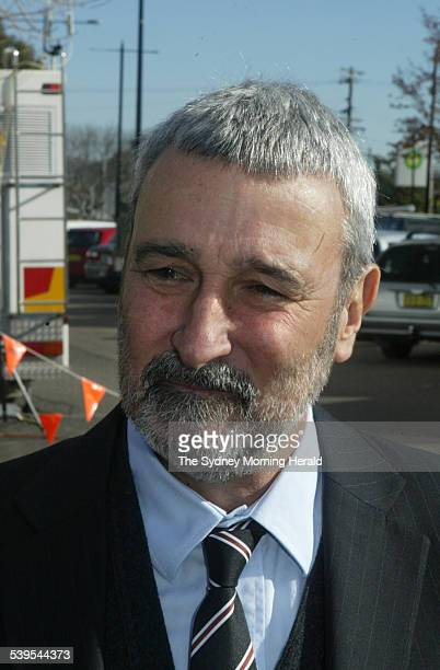 Graham Kennedy s funeral service on 31 May 2005 at the Mittagong Playhouse, Television personality Don Burke. SMH NEWS Picture by ROBERT PEARCE