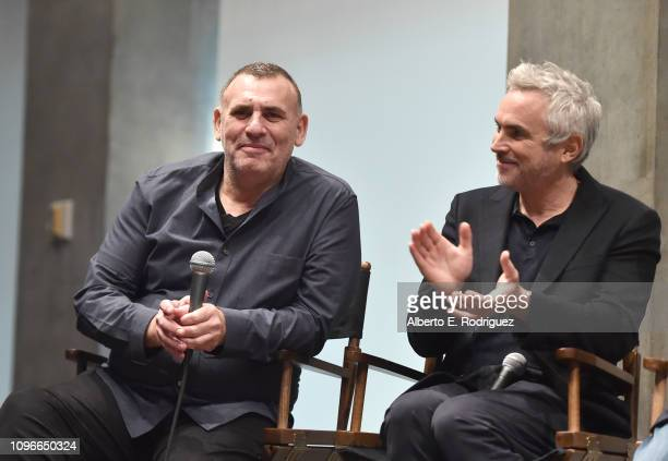 Graham King and Alfornso Cuaron attend the 2019 PGA Nominees Breakfast on January 19 2019 in Beverly Hills California