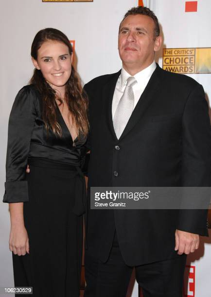 Graham King and guest during 12th Annual Critics' Choice Awards Arrivals at Santa Monica Civic Center in Santa Monica California United States
