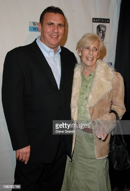 Graham King and guest during BAFTA/LA Awards Season Tea Party at Four Season Hotel in Los Angeles CA United States