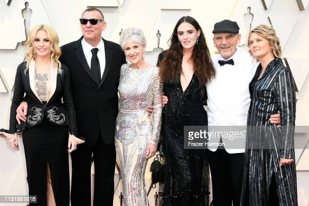 Graham King Anita Dobson and producer Jim Beach attend the 91st Annual Academy Awards at Hollywood and Highland on February 24 2019 in Hollywood...