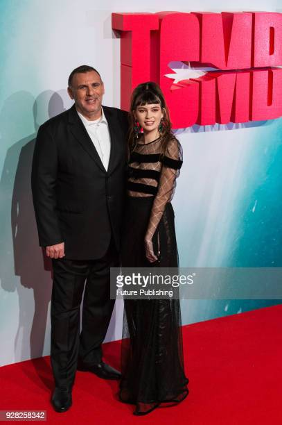 Graham King arrives for the European film premiere of 'Tomb Raider' at Vue West End cinema in London's Leicester Square March 6 2018 in London United...