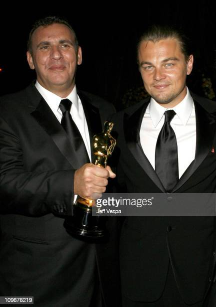 Graham King producer winner Best Picture for The Departed and Leonardo DiCaprio