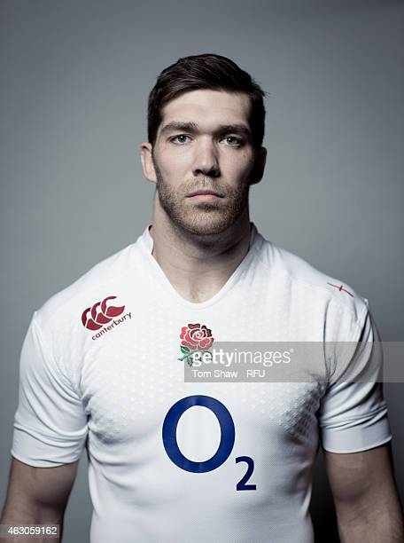Graham Kitchener of England poses for a picture during the England rugby headshots session at Pennyhill Park on January 31 2015 in Bagshot England