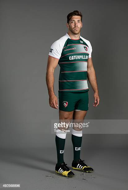 Graham Kitchener of Leicester poses for a picture during the Leicester Tigers Photocall for BT at Welford Road on September 10 2015 in Leicester...