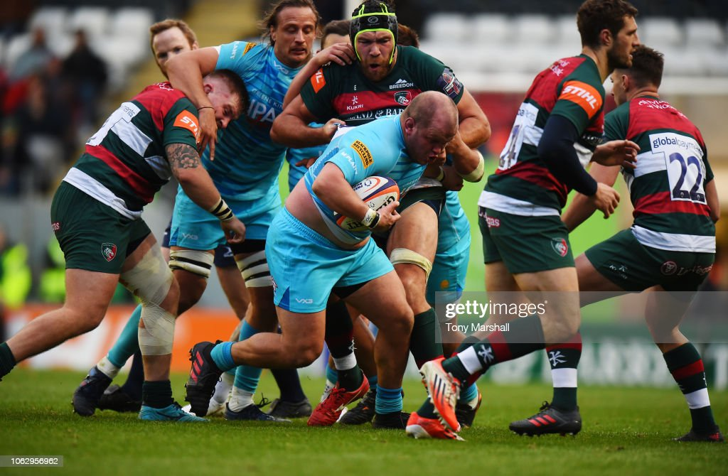 GBR: Leicester Tigers v Worcester Warriors - Premiership Rugby Cup