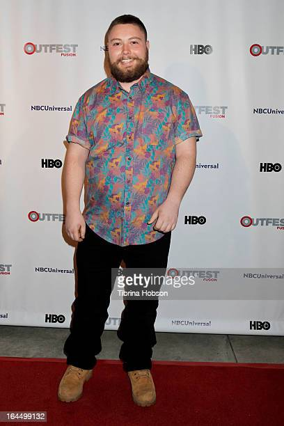 Graham Kolbeins attends the OutFest Fusion LGBT People of Color Film Festival closing night at the Egyptian Theatre on March 23, 2013 in Hollywood,...