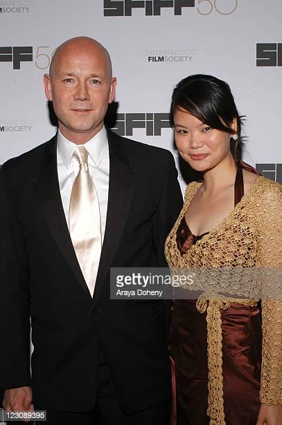 Graham Leggat San Francisco Film Society Executive Director with Charlie Lin
