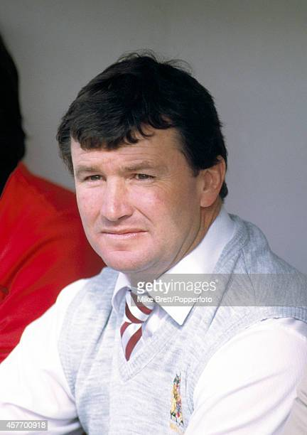 Graham Lowe Wigan rugby league coach during the match against Salford at Central Park in Wigan on 31st August 1986 Wigan won 4212