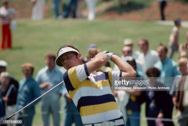 Graham Marsh competing in the 1977 PGA Tournament of Champions ABC Sports coverage