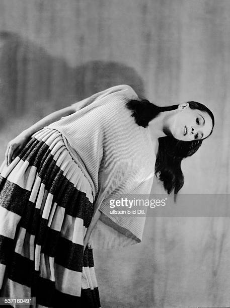 Graham Martha *1894 Tänzerin Choreographin USA erschienen in DAME 25/1932