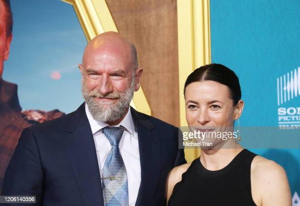 """Graham McTavish and Garance Doré attend the Los Angeles Premiere of Starz's """"Outlander"""" Season 5 held at Hollywood Palladium on February 13, 2020 in..."""