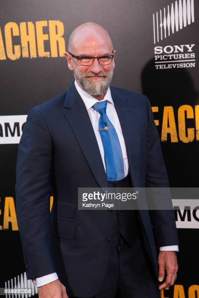 Graham McTavish arrives at the Premiere of AMC's Preacher Season 2 at The Theatre at Ace Hotel on June 20 2017 in Los Angeles California