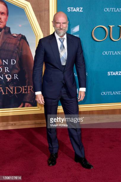 """Graham McTavish attends the Starz Premiere event for """"Outlander"""" Season 5 at Hollywood Palladium on February 13, 2020 in Los Angeles, California."""