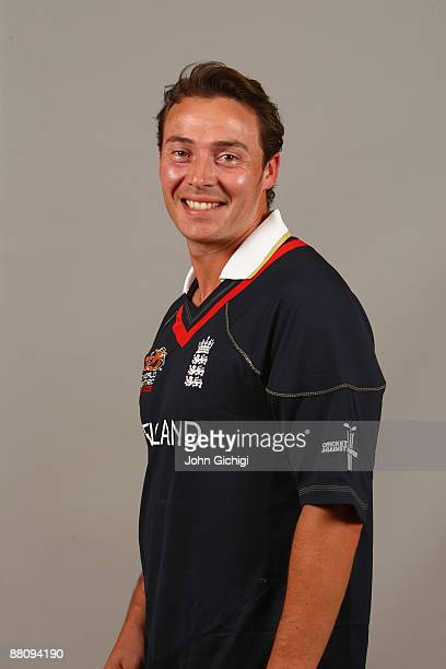 Graham Napier poses for a portrait prior to the ICC World Twenty20 at Hart Hotel on June 1 2009 in Nottingham England