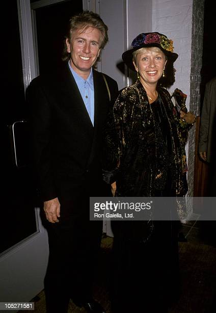 Graham Nash and wife during Brice Marden Cold Mountain Art Exhibit at The DIA Center in New York City New York United States