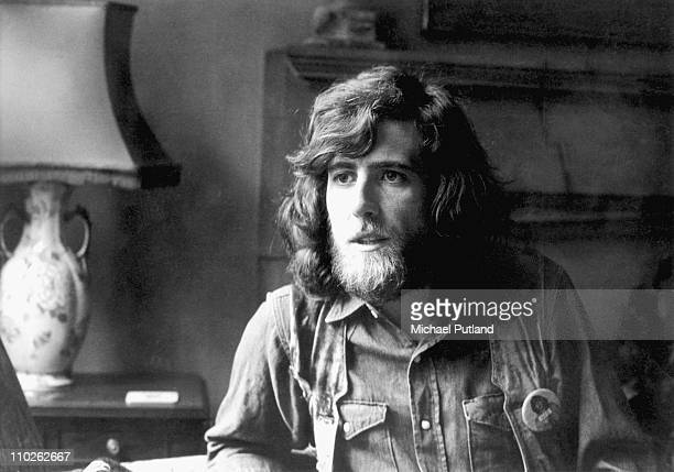 Graham Nash of Crosby Stills And Nash and previously the Hollies portrait London 28th October 1970