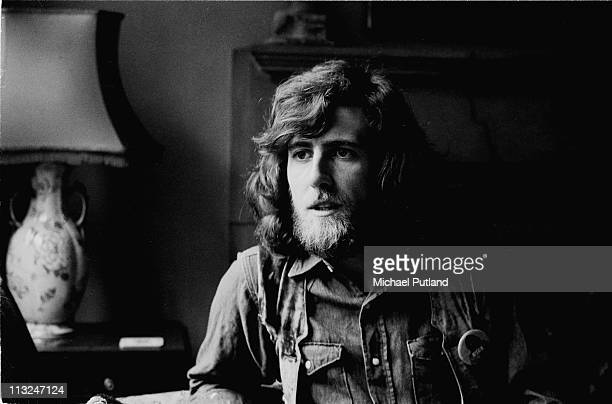 Graham Nash of Crosby Stills And Nash and The Hollies portrait being interviewed London 28th October 1970