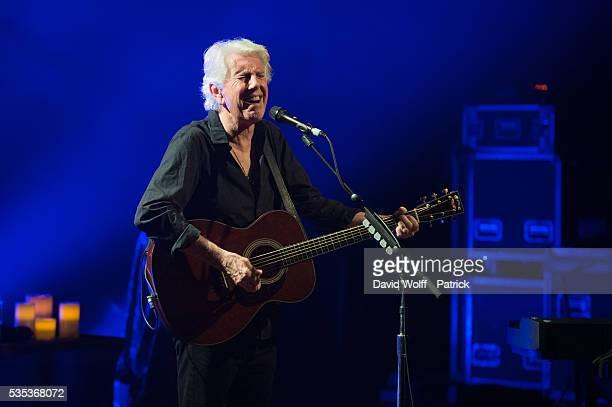 Graham Nash performs at La Cigale on May 29 2016 in Paris France