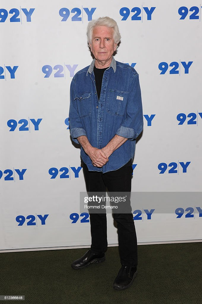 Graham Nash visits at 92Y on February 25, 2016 in New York City.