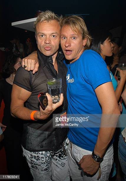 Graham Norton and Carson Kressley during Entertainment Weekly's Celebration of The Must List The 137 People Things We Love This Summer Issue PreShow...