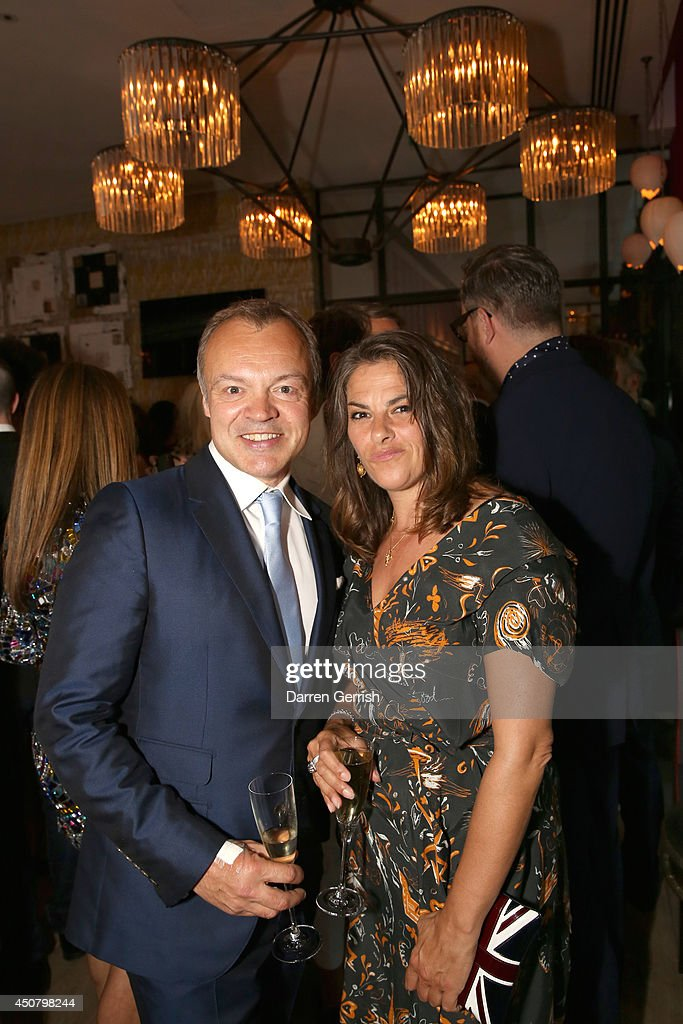 Graham Norton and Tracey Emin attends the GQ and