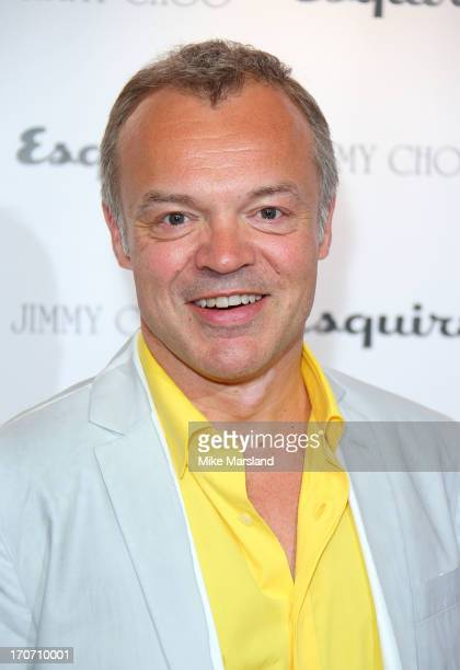 Graham Norton attends a party hosted by Jimmy Choo Esquire during the London Collections SS14 on June 16 2013 in London England