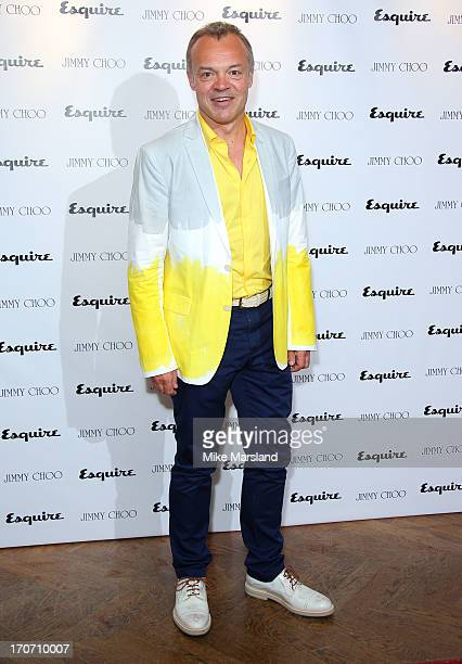 Graham Norton attends a party hosted by Jimmy Choo & Esquire during the London Collections SS14 on June 16, 2013 in London, England.