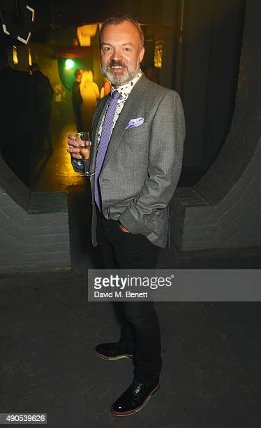 Graham Norton attends 'Above / Beyond' hosted by American Airlines at One Marylebone on September 29 2015 in London England