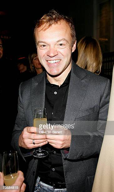 Graham Norton attends the a fundraiser party for the Almeida Theatre at the Almeida Theatre on March 23 2007 in London England
